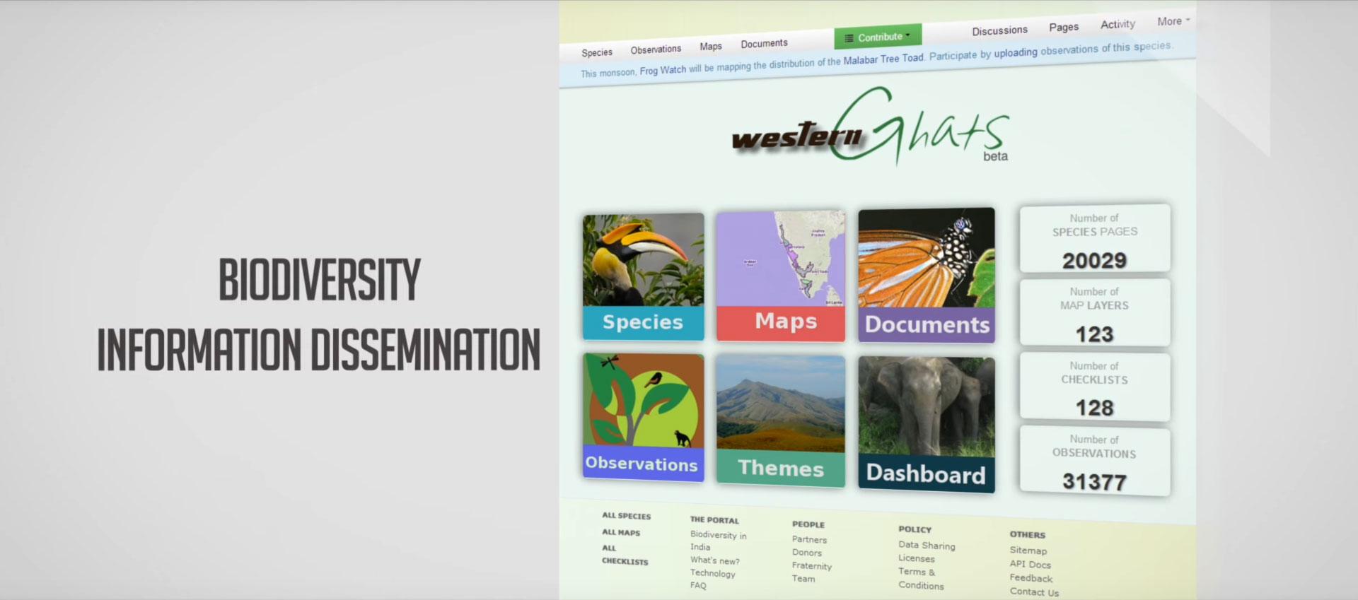 Biodiversity Portal